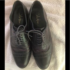 Cole Haan Shoes - Cole Haan Black Cherry colored Oxford shoes.